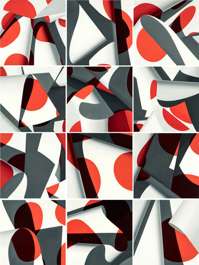 Nate Ronniger, 'Red Dot No. 1-12', 2018