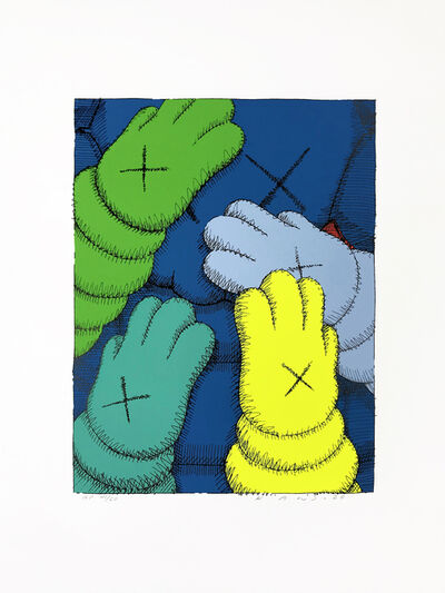 KAWS, 'PRINT 3 FROM URGE PORTFOLIO', 2020