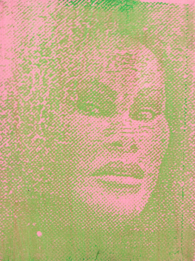 Peter Mayer, 'Jocelyn Wildenstein (Pink/Green)', circa 1990