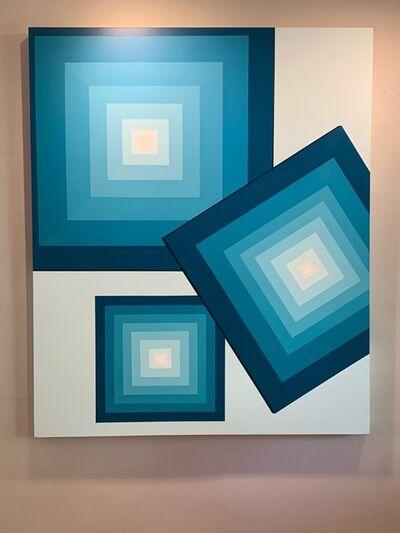 Adriana Dorta, 'Chromatic Acqua II', 2018