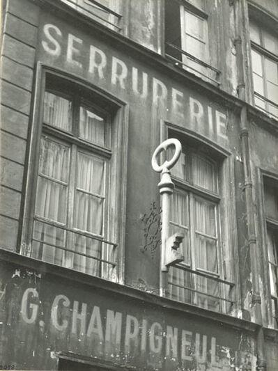 Maurice Georges Chanu, 'L'Enseigne, Paris (The Sign)', ca. 1950