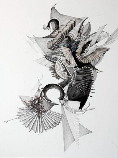 Ji-Yun, 'Plume Explosée', 2018