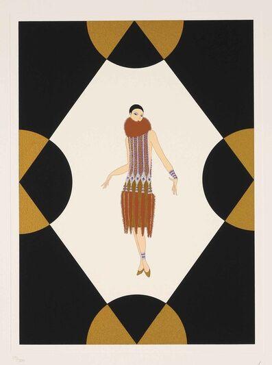 Erté (Romain de Tirtoff), 'Manhattan Mary V', 1989