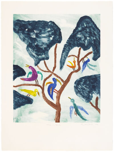 Judy Kensley McKie, 'Tree of Birds', 1990