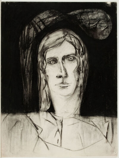 Fay Lansner, 'Portrait of Barbara Guest', unknown