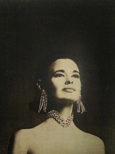 Francesco Scavullo, 'Gloria Vanderbilt', 1968