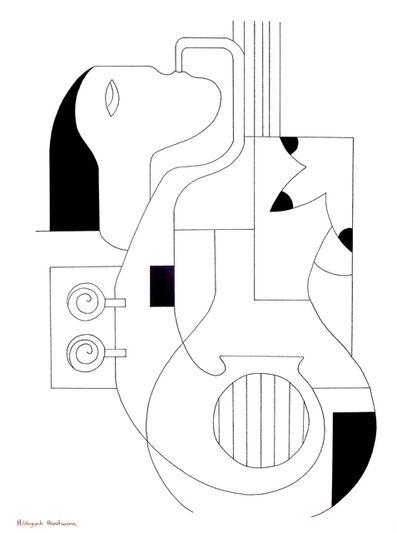Hildegarde Handsaeme, 'Les lignes musicales', 2019