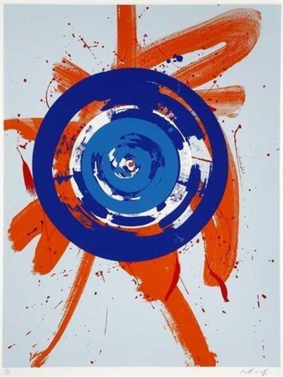 Kazuo Shiraga, 'The Circle Inside Orange', 1992