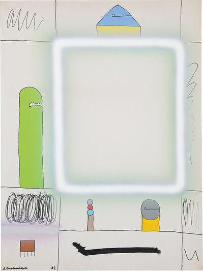 Sadamasa Motonaga, 'From Square of White Lines', 1982
