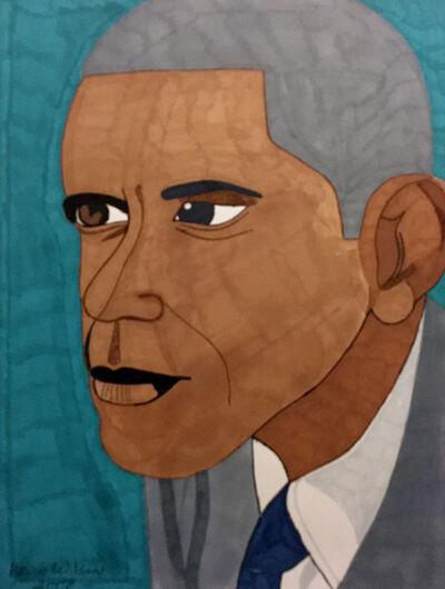 Kevin Wilson, 'Barack Obama', 2017