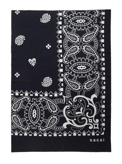 Sacai, '100% lambswool blanket', 2017