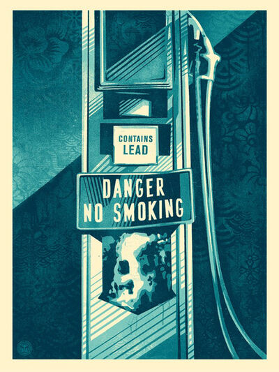 Shepard Fairey, 'Danger No Smoking', ca. 2015