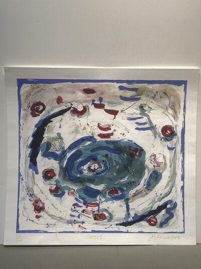 Joan Snyder, 'Oasis', 2006