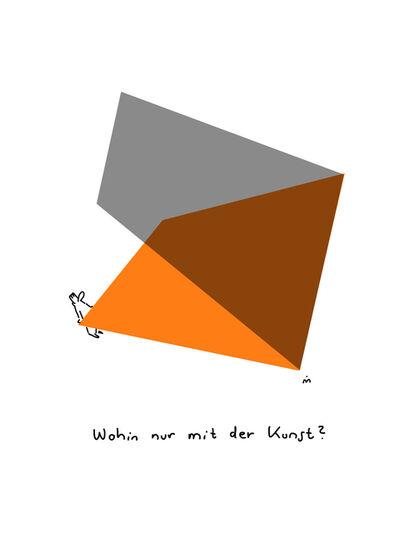 Dirk Meissner, 'Wohin mit der Kunst', 2018
