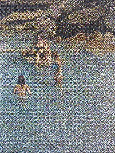 William Betts, 'Untitled I, Vardia Beach, Folegandros '