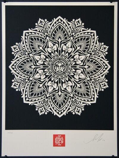 Shepard Fairey, 'Mandala 2 - Black', 2010