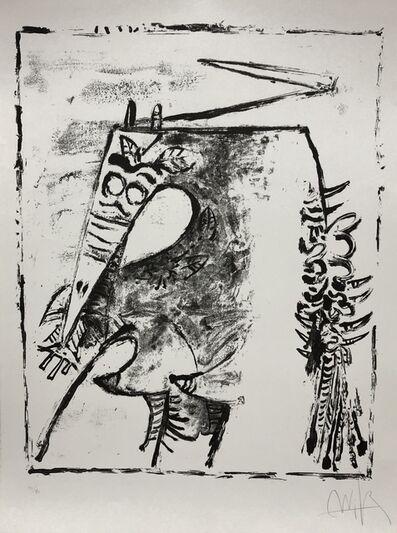 "Wifredo Lam, '""Figure blanche et noire""', 1975"