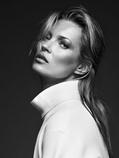 Bryan Guy Adams, 'Kate Moss (White Coat)', 2010