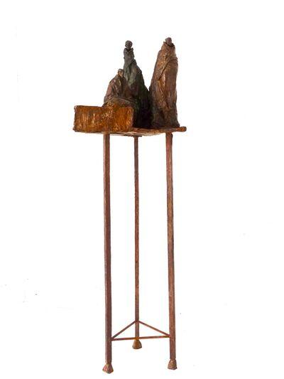 Guy Ferrer, 'Trois bienveillants et une fleur', 1015