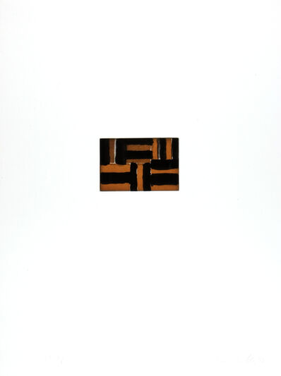 Sean Scully, 'On the Beach at Fontana', 1993