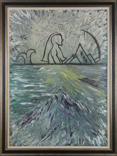José Bedia, 'Siren and Sinking Ship', n.d.