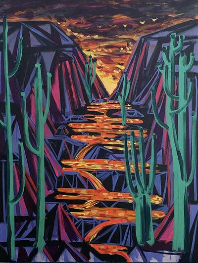 Benjamin King, 'Folding Space', 2021
