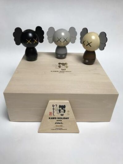 KAWS, 'Kokeshi Doll Set', 2019