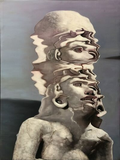 Ciler, 'Ejercicio de distorsión sobre Chalchiuhcihuatl', 2020