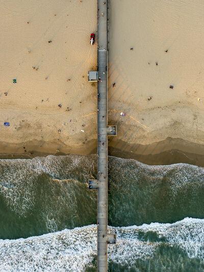 Jeffrey Milstein, 'Venice Beach Fishing Pier', 2015