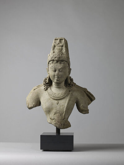 Unknown Indian, 'Bust of Vishnu', 10th/11th century