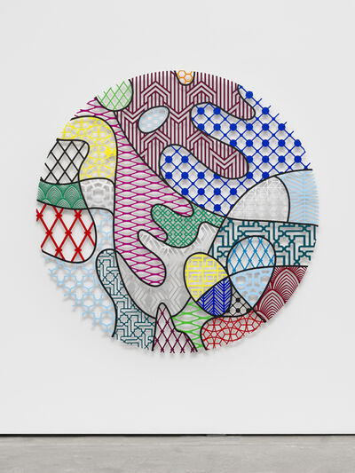 Nevin Aladağ, 'Pattern Kinship, pollen', 2018