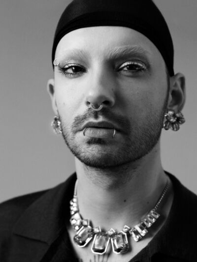 Bryan Guy Adams, 'Bill Kaulitz (Pierced Portrait)', 2017