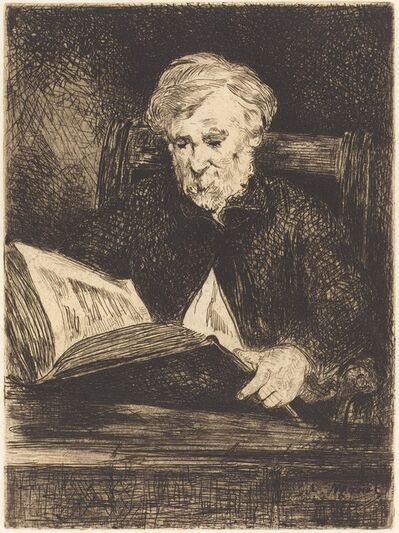 Édouard Manet, 'The Reader (Le liseur)', 1861
