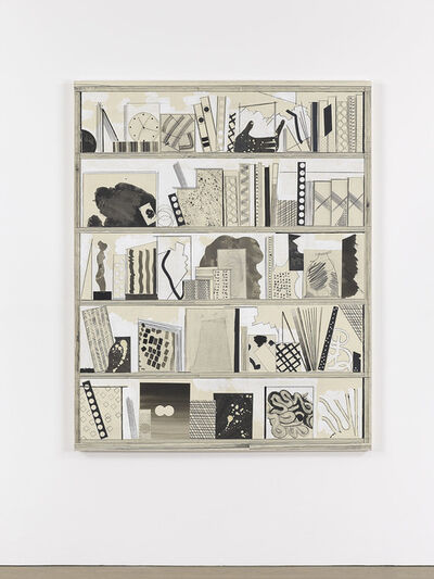 David Korty, 'Film Strip (white shelf 2)', 2013