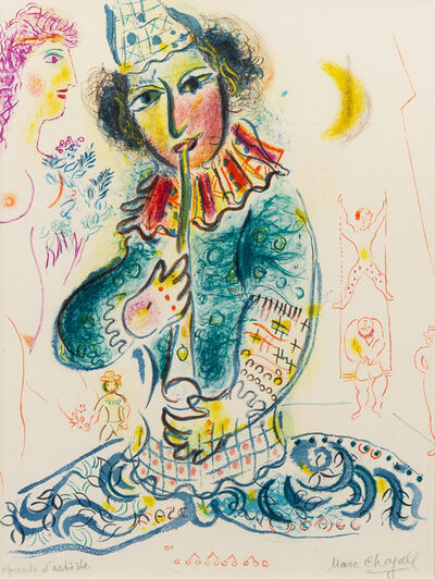 Marc Chagall, 'Le Clown from Le Cirque', 1967