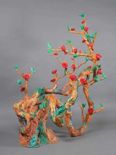 Zhou Chunya 周春芽, 'Peach Bronze 桃花繪 ', 2013