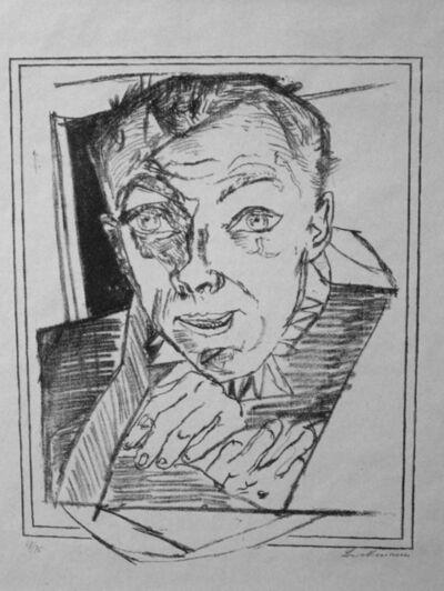 Max Beckmann, 'Selbstbildnis (Self-Portrait)', 1918
