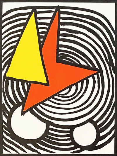 Alexander Calder, ' Derriere le Miroir #201', 1965