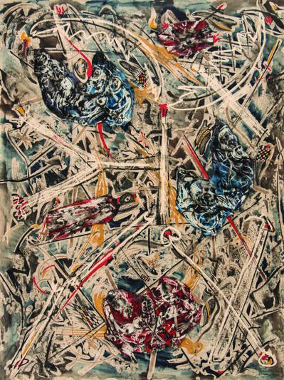Alfonso Ossorio, '3 Piece Collage', ca. 1954 -1964