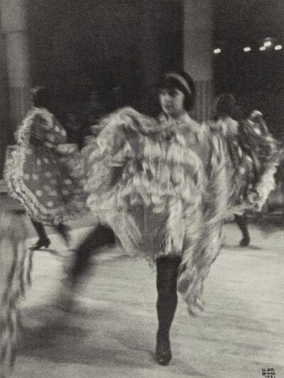 Ilse Bing, 'French Cancan (#2), Moulin Rouge, Paris', 1931