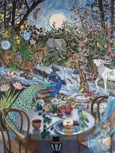 Barbara Kassel, 'Nightfall in the Garden', 2018