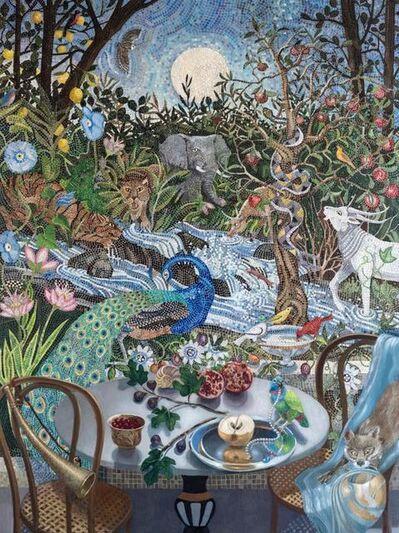 Barbara Kassel, 'Nightfall in the Garden', 2018