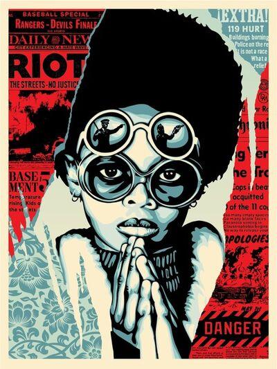 Shepard Fairey, 'Late Hour Riot', 2017