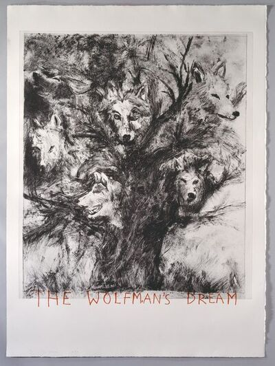 Jim Dine, 'Wolf-Man's Dream an etching to accompany The Case of the Wolf Man by Sigmund Freud', 1993