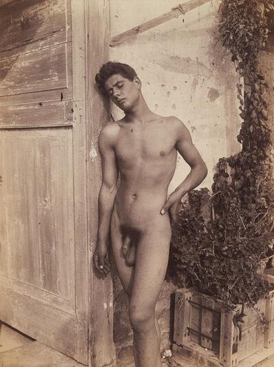 Wilhelm Von Gloeden, 'young nude'