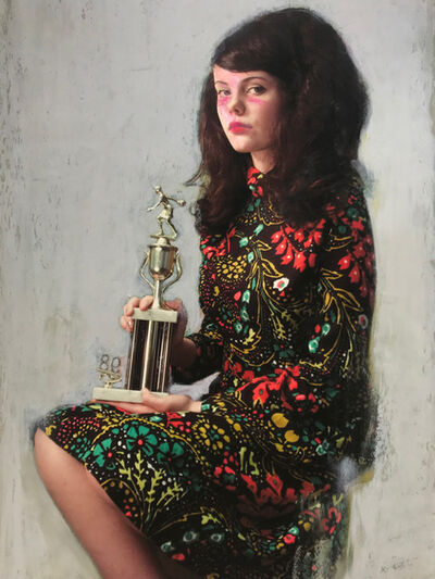 Mercedes Helnwein, 'Trophy Girl', 2019