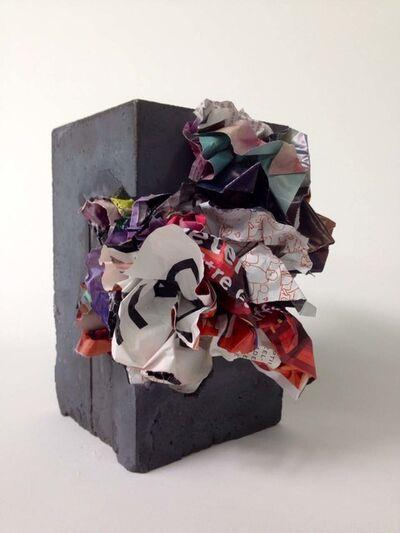 Tim Gratkowski, 'Paper-Crete #40', 2014