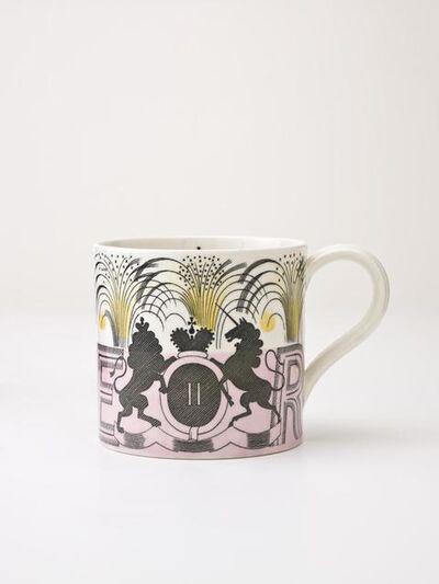 Eric Ravilious, 'Queen Elizabeth Ii Coronation Mug', designed 1936-design adapted 1953