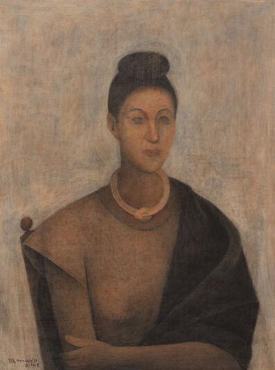 Rufino Tamayo, 'Retrato de Olga', 1948