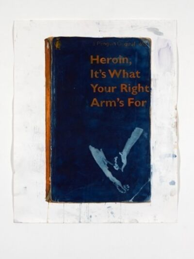 Harland Miller, 'Heroin, It's What Your Right Arm's For', 2012